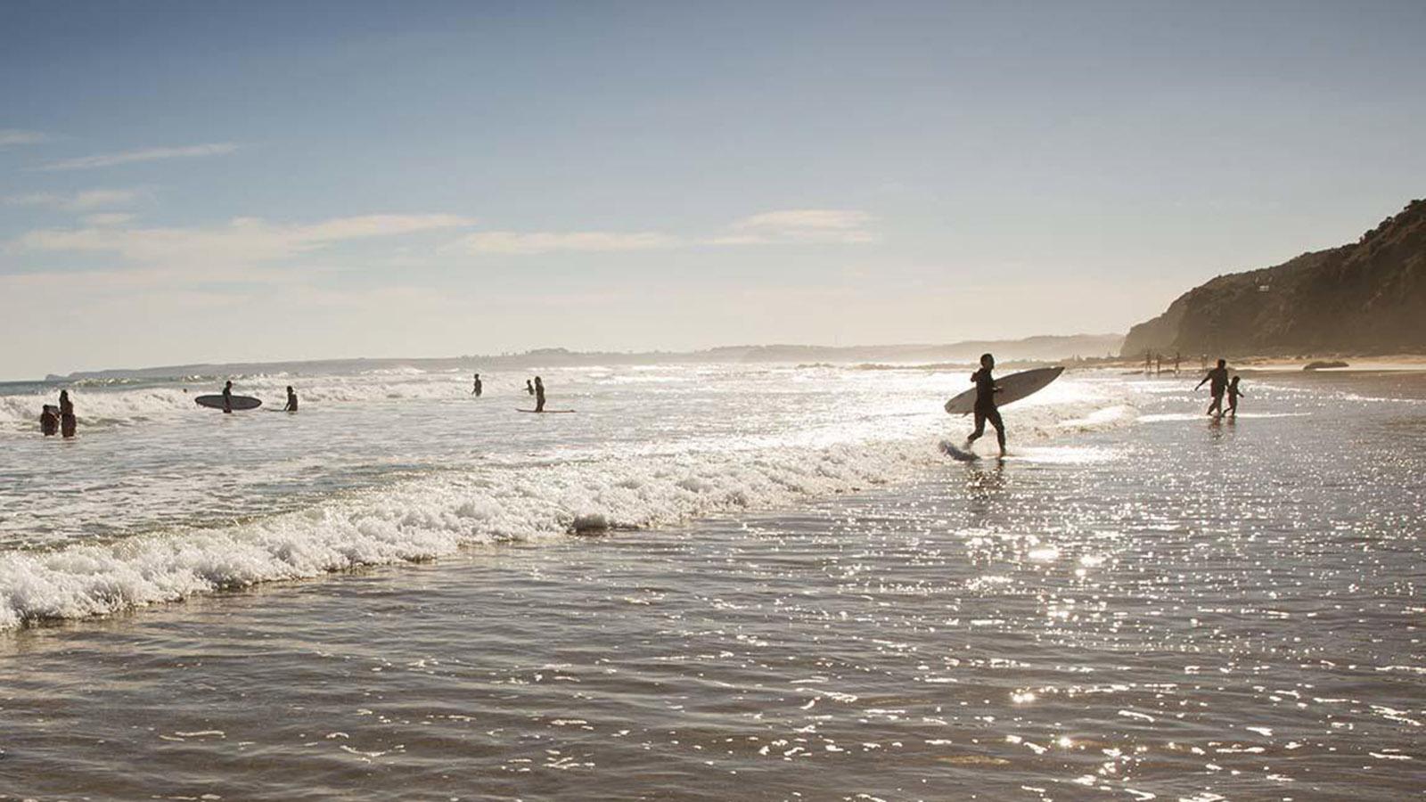 Surfing, Phillip Island, Victoria, Australia
