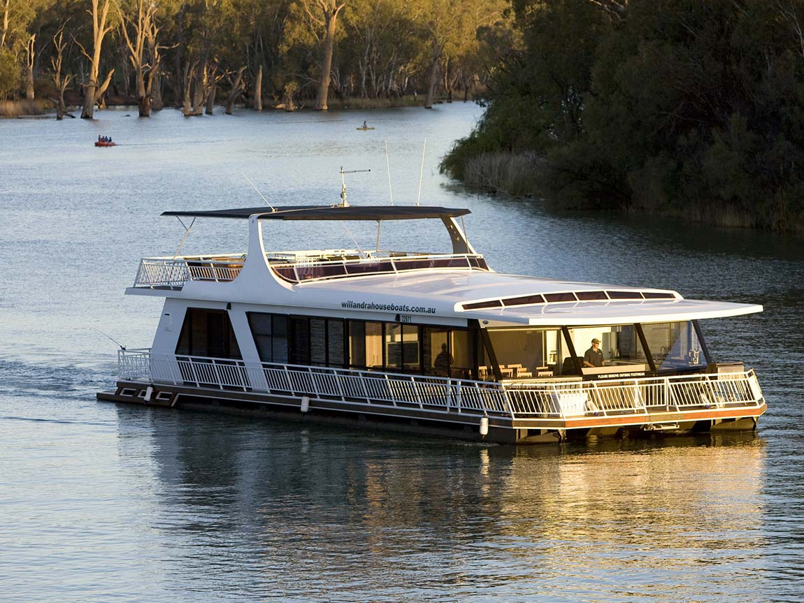 All Seasons Houseboats, The Murray, Victoria, Australia