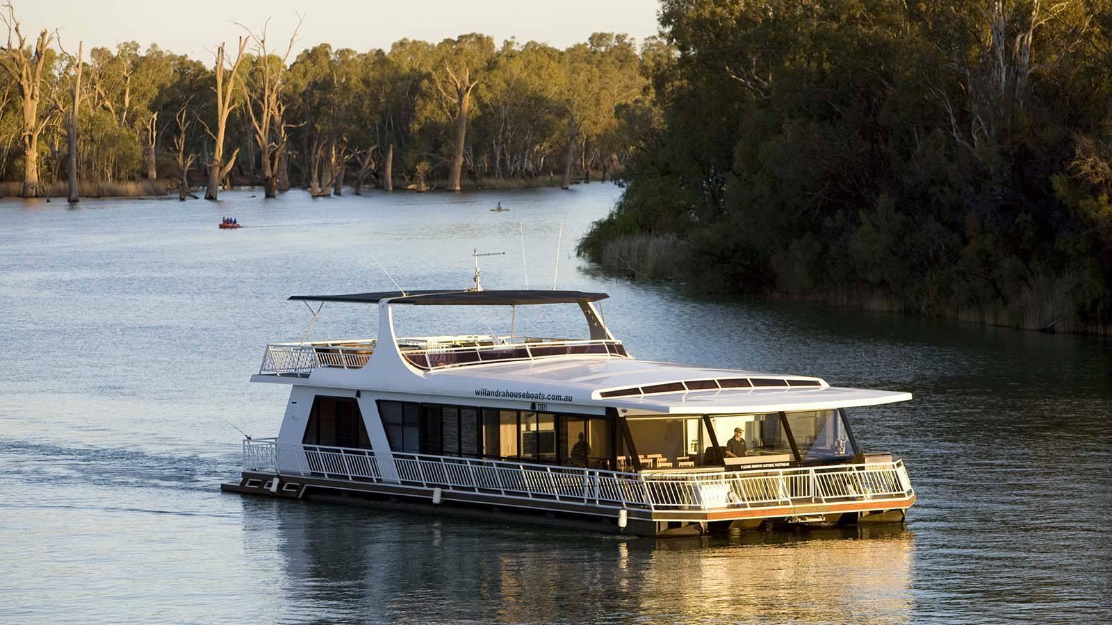 All Seasons Houseboats, The Murray, Victoria, Australia