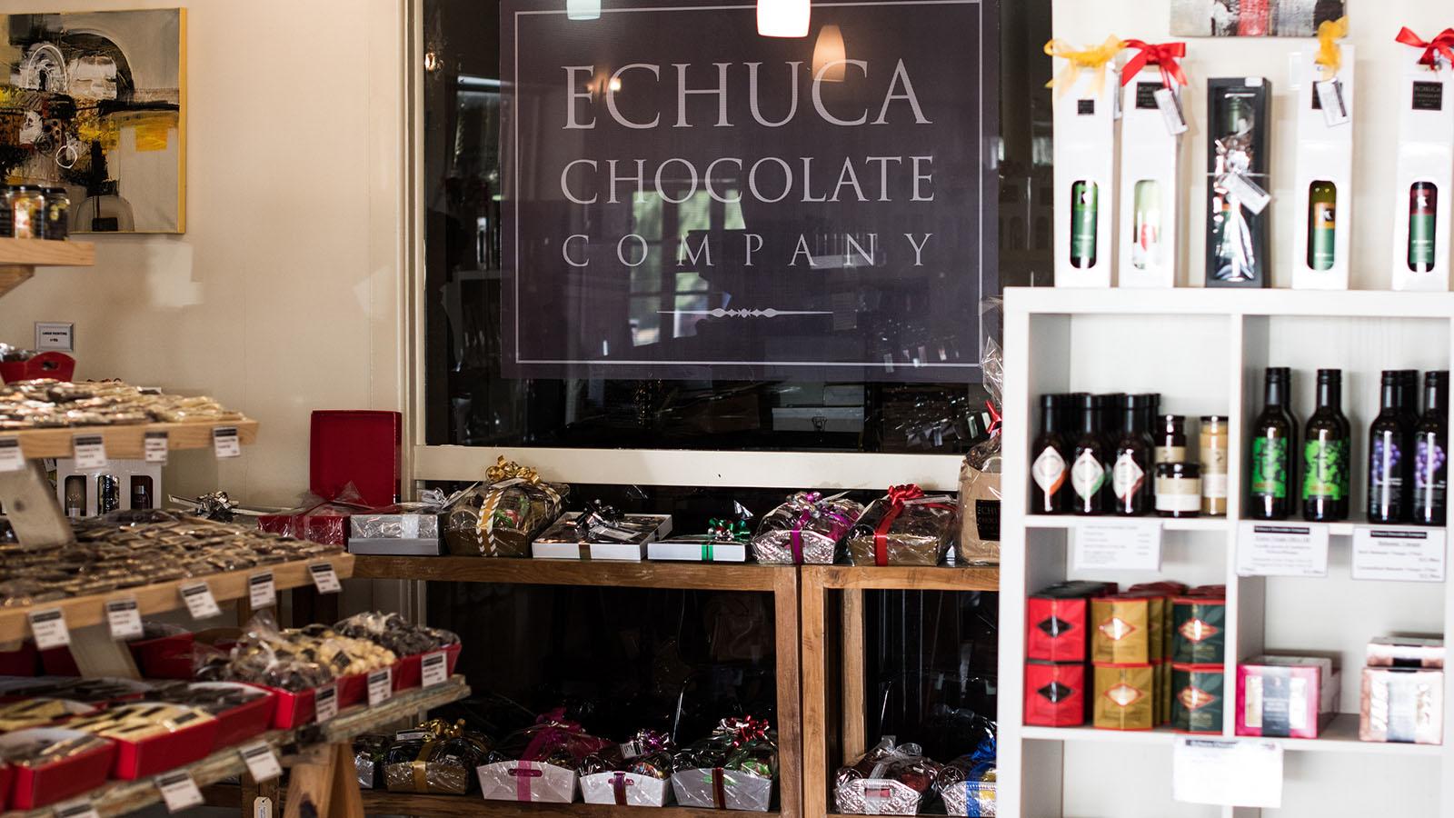 Echuca Chocolate Company, The Murray, Victoria, Australia