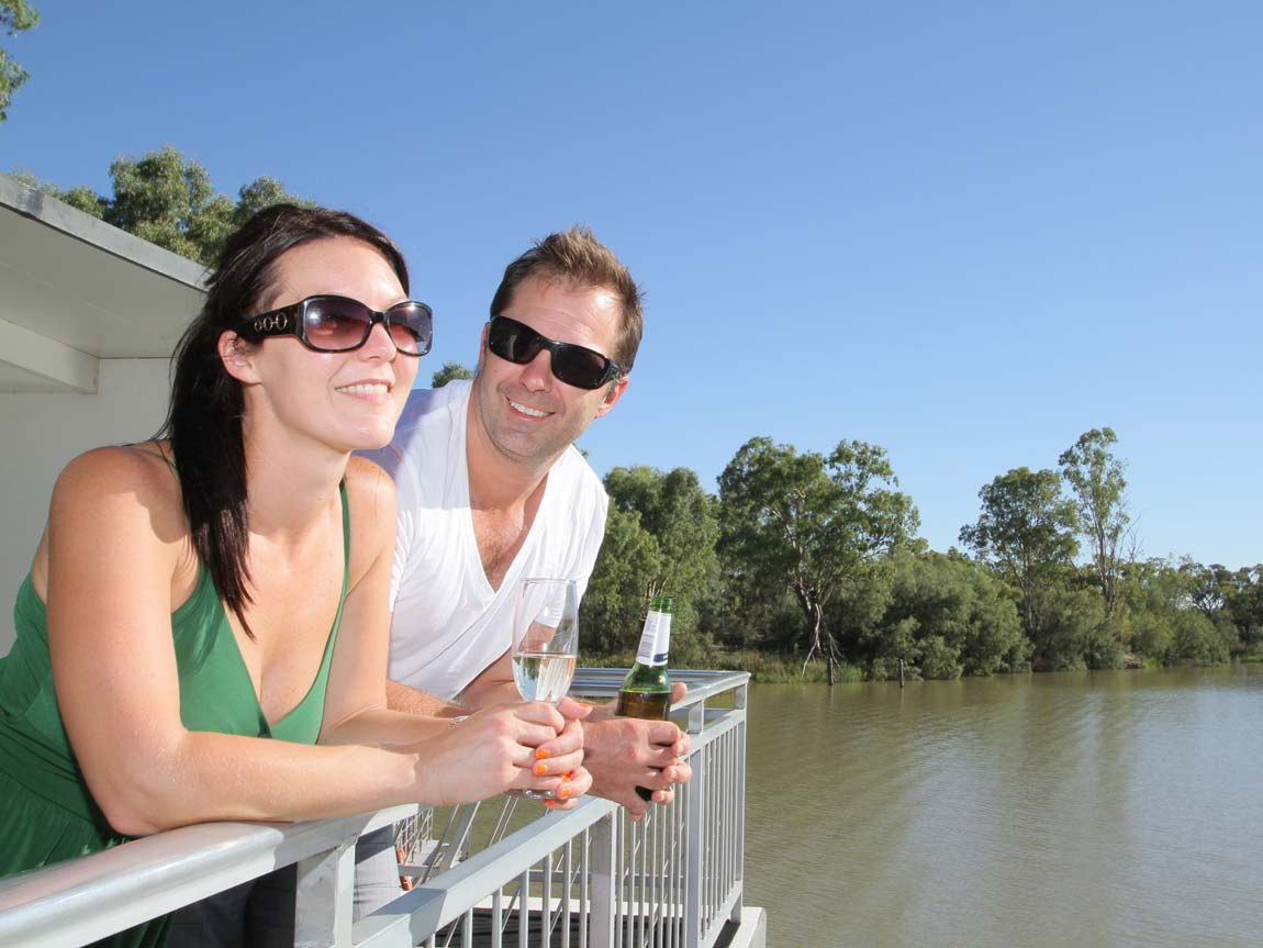 Mildura Houseboats, The Murray, Victoria, Australia