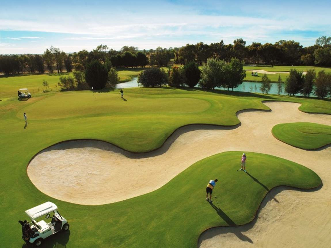 Murray Downs Golf Resort, The Murray, Victoria, Australia