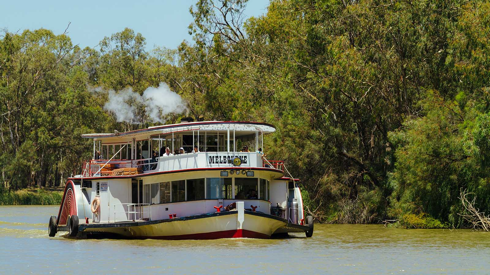 Mildura Paddlesteamers, The Murray, Victoria, Australia