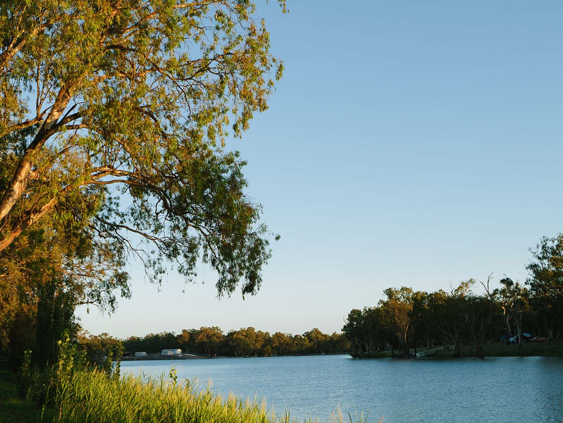 Murray River at Mildura, The Murray, Victoria, Australia. Image: Roberto Seba
