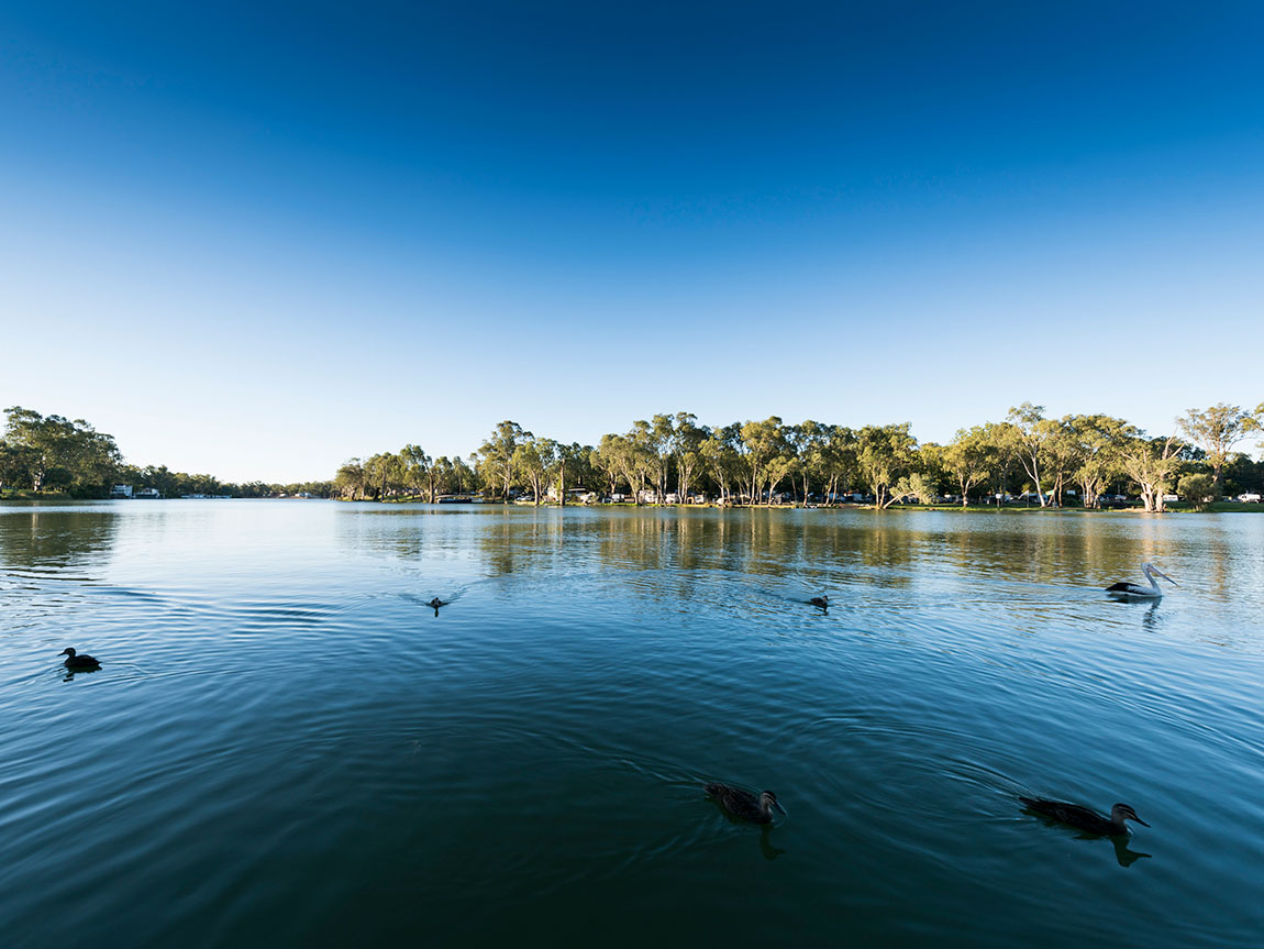 The Murray River, Victoria, Australia