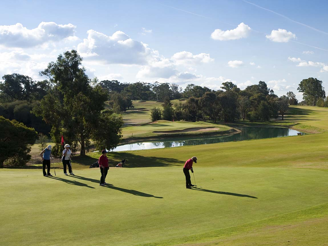 Cobram Barooga Golf Club, The Murray, Victoria, Australia