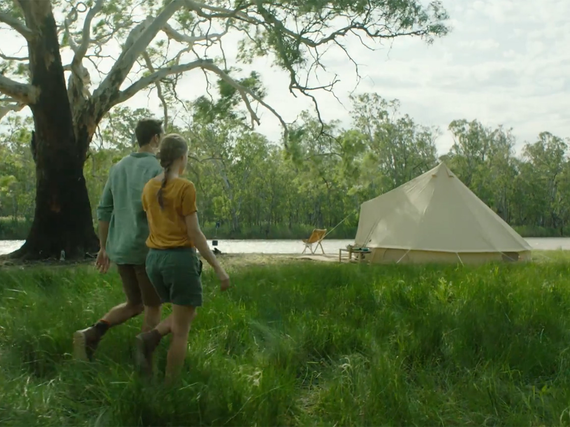 Glamping, The Murray, Victoria Australia