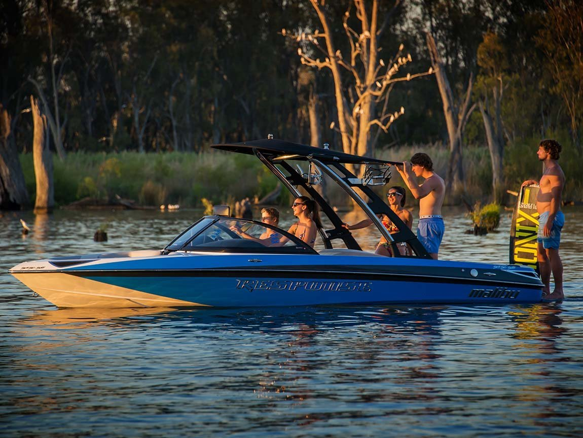 Boating, The Murray, Victoria, Australia