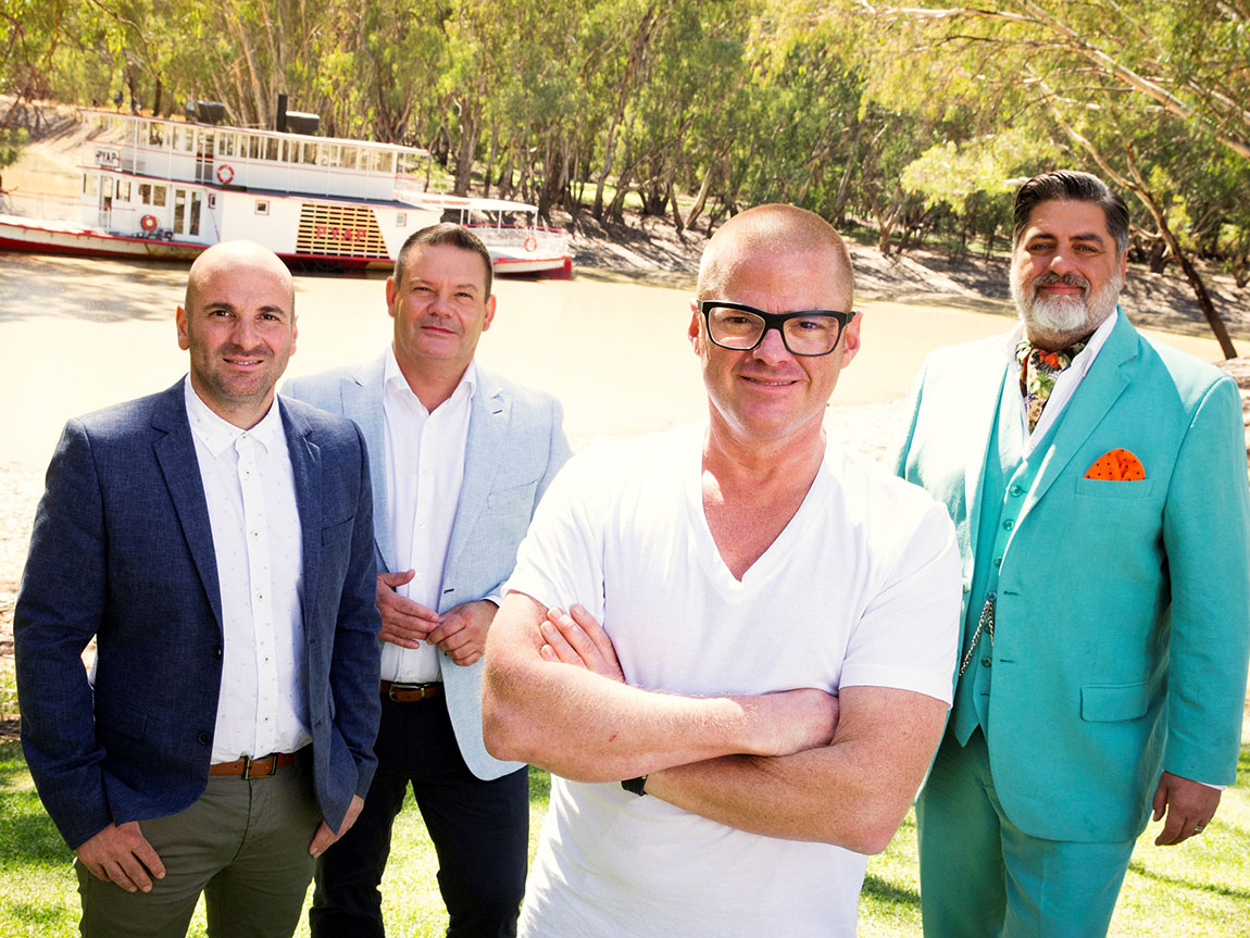MasterChef on location: Swan Hill on the Murray River, Victoria