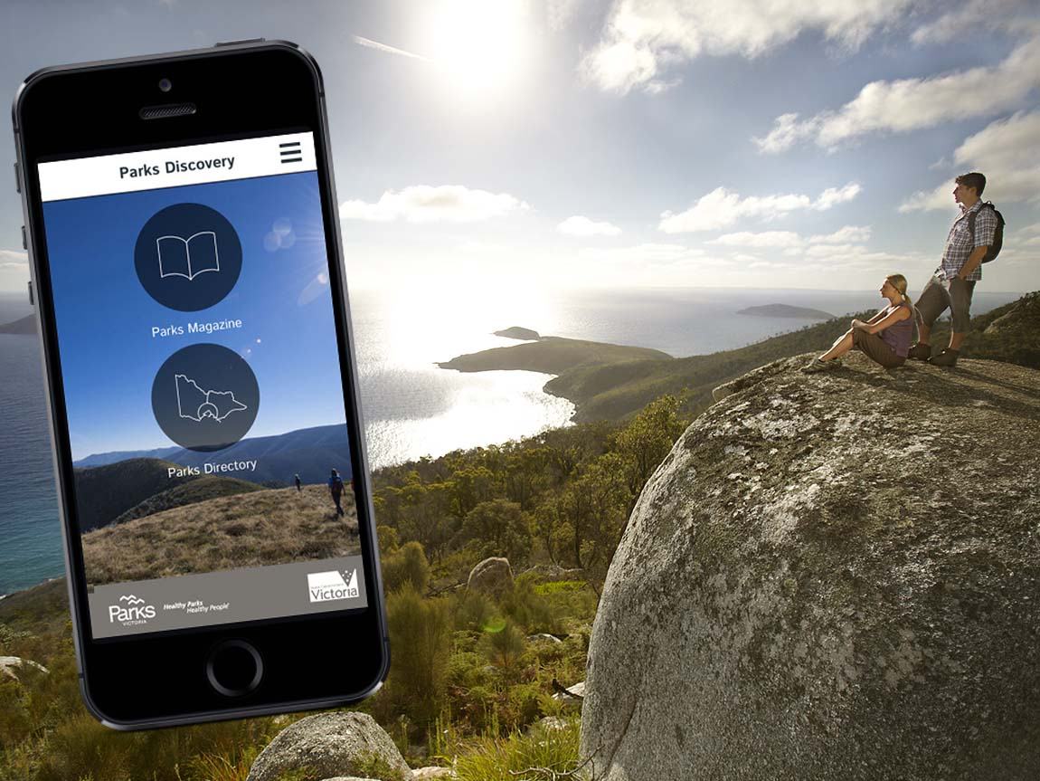Parks Discovery app, Parks Victoria