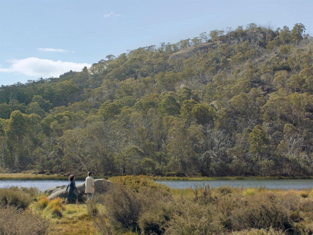 Wander Victoria. Lake Catani, Mount Buffalo, High Country, Victoria, Australia