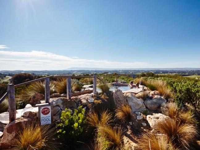 Peninsula Hot Springs, Mornington Peninsula , Victoria, Australia