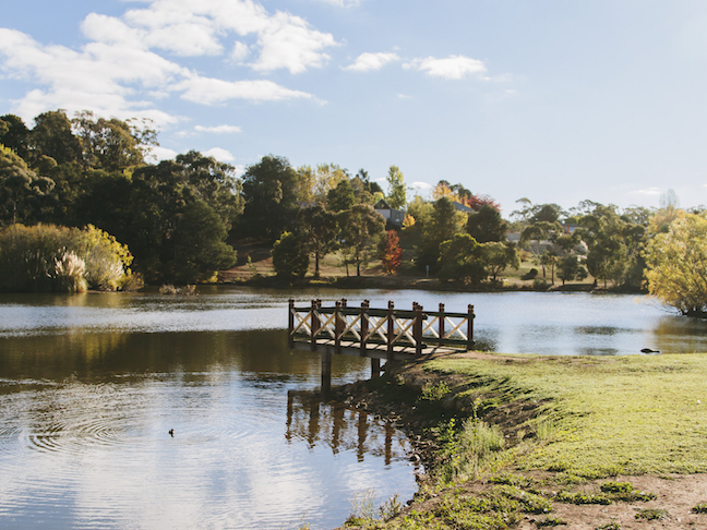 Lake Daylesford, Dayleford and the Macedon Ranges, Victoria, Australia