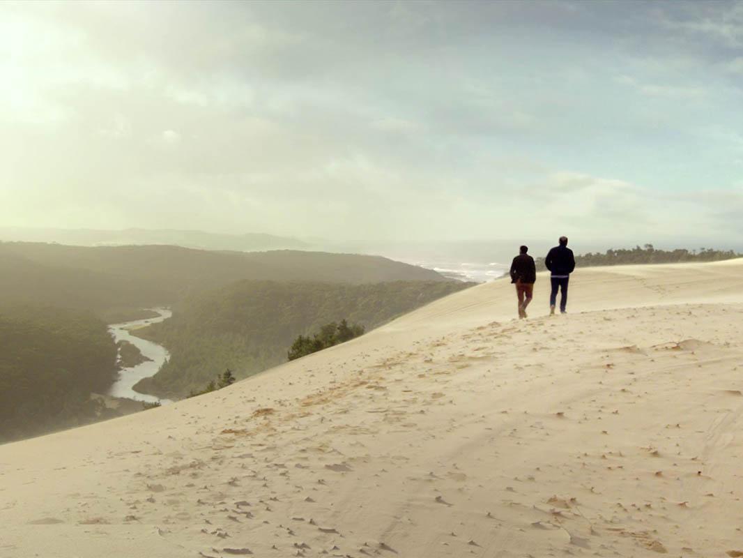 Wander Victoria. Thurra River Dunes, Croajingalong National Park, Gippsland, Victoria, Australia