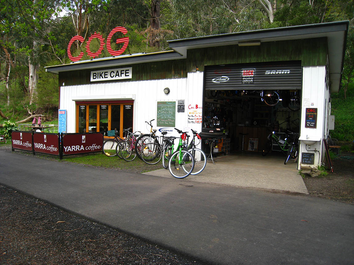 Cog Bike Cafe, Yarra Valley & the Dandenong Ranges, Victoria, Australia