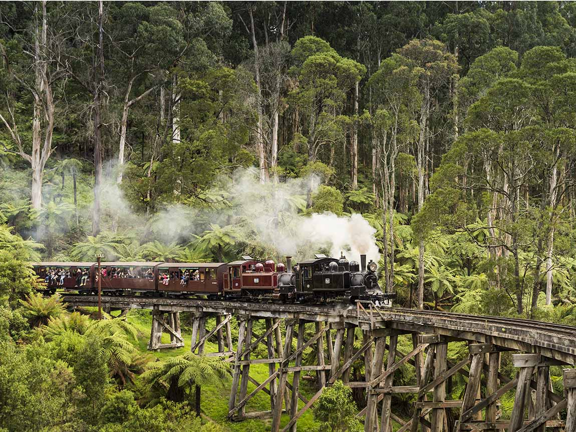 Puffing Billy, Yarra Valley & Dandenong Ranges, Victoria, Australia