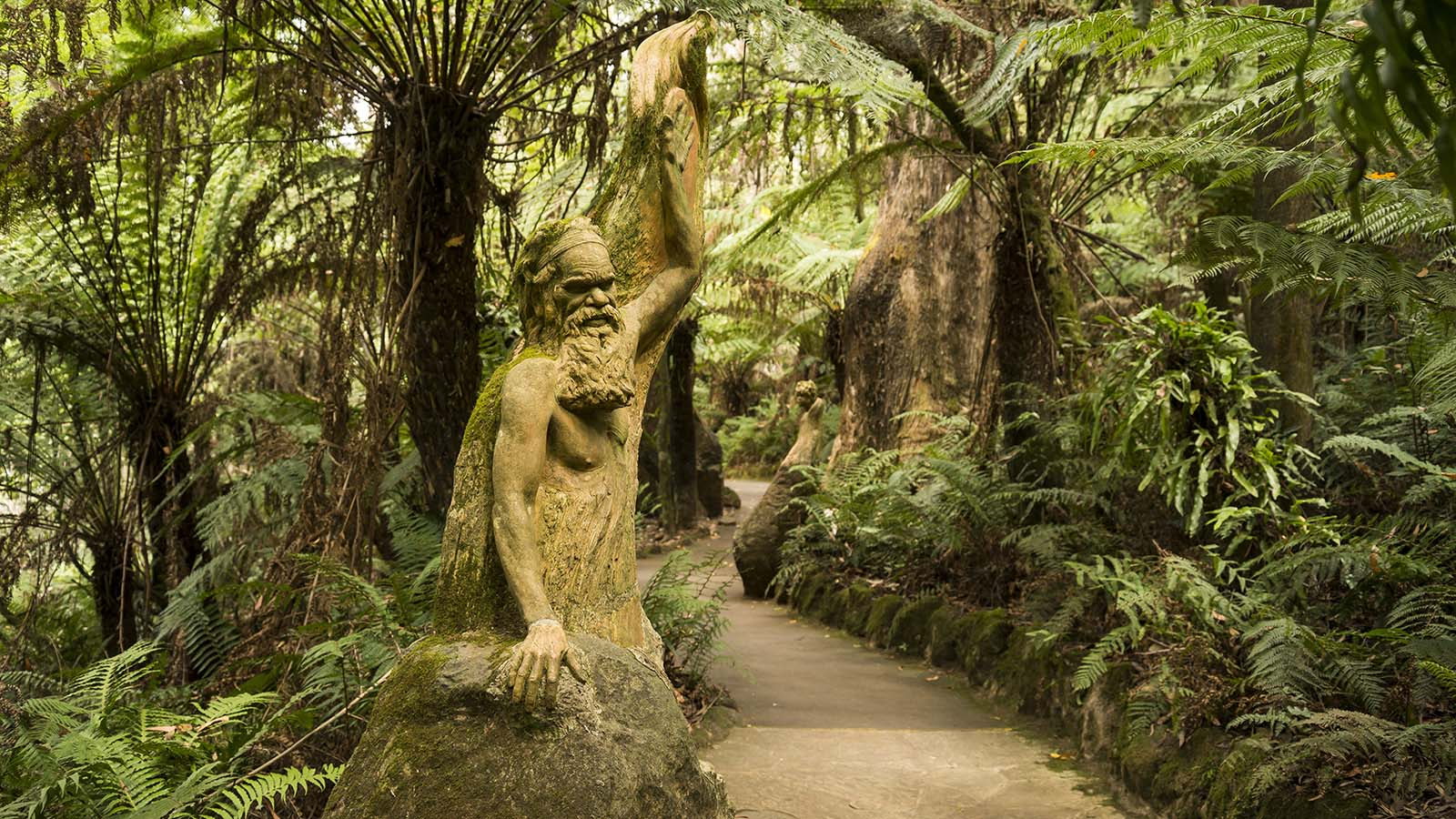 William ricketts sanctuary attraction yarra valley