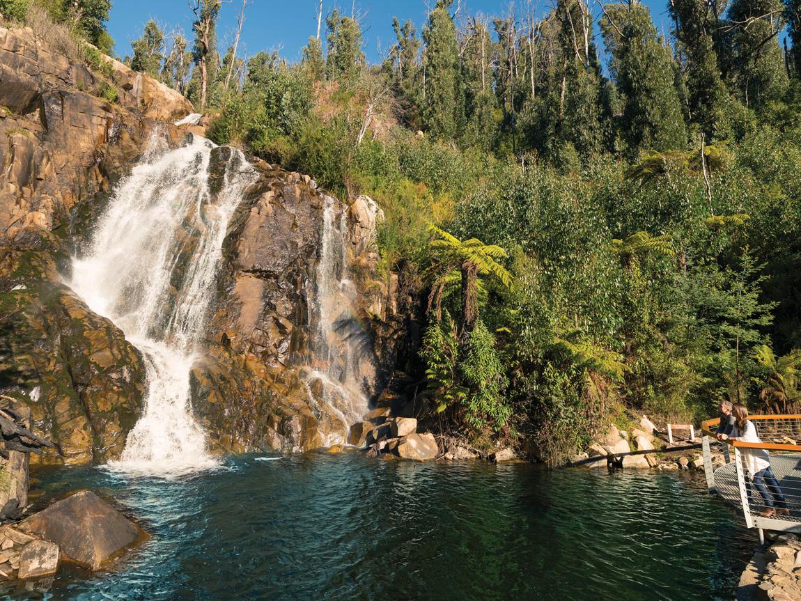 Steavenson Falls, Marysville, Yarra Valley and Dandenong Ranges, Victoria, Australia