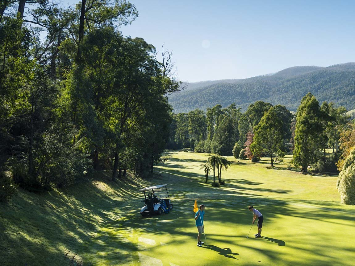 Marysville Golf Course, Yarra Valley and Dandenong Ranges, Victoria, Australia
