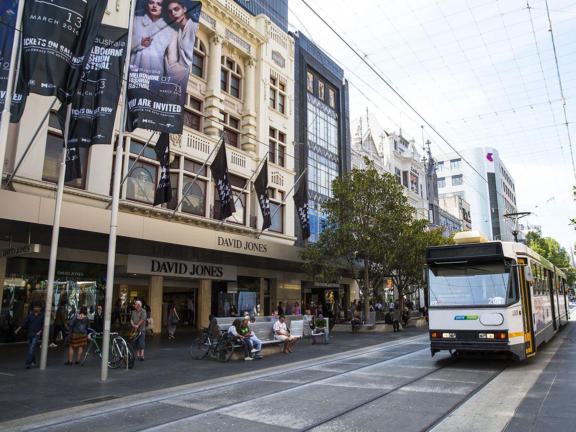 David Jones, Melbourne, Victoria, Australia